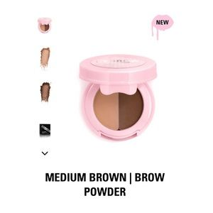 Brand new Kybrow brow powder duo in Medium Brown